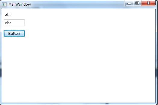 C# WPF]Bindingソースの更新を表示に反映する